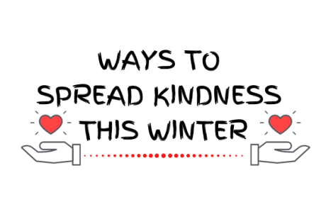 Ways to Spread Kindness this Winter