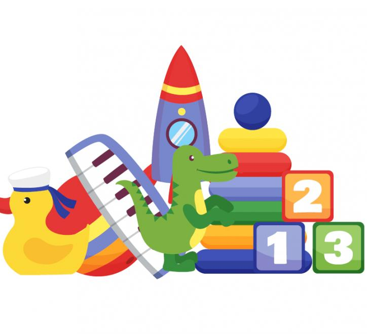 Children's toys image