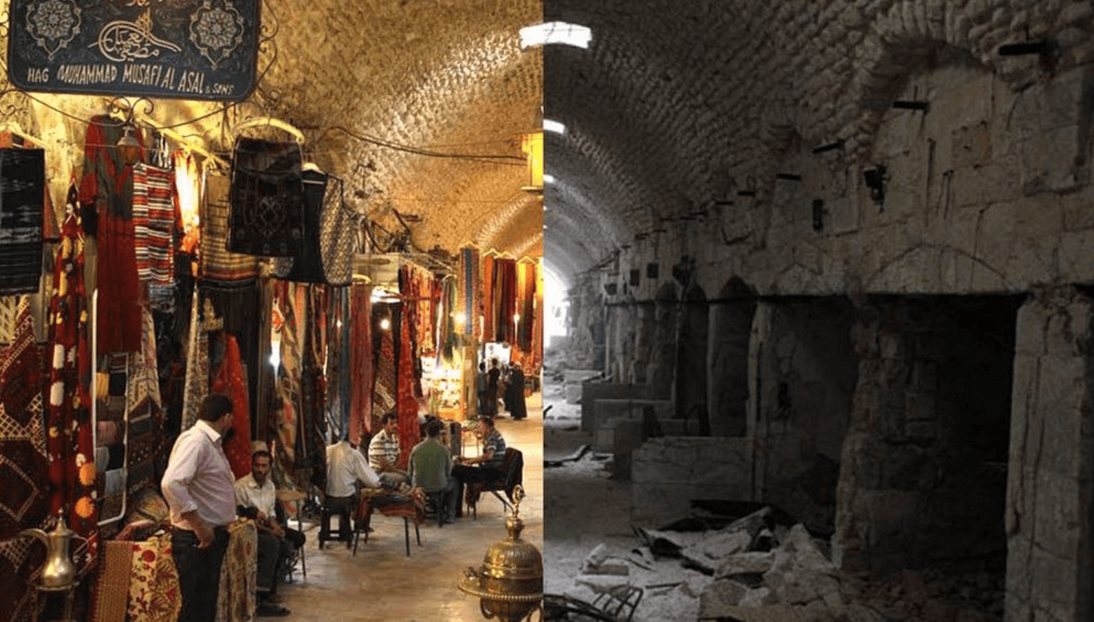 Syria Before and After Destruction