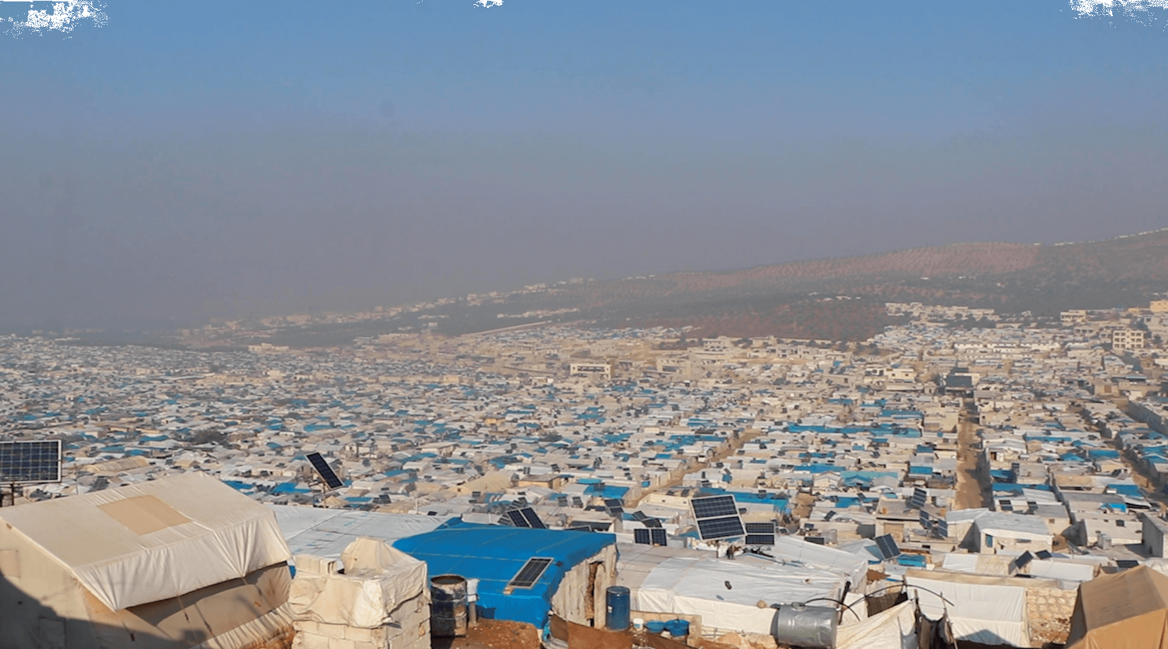 A View of Syrian Camp